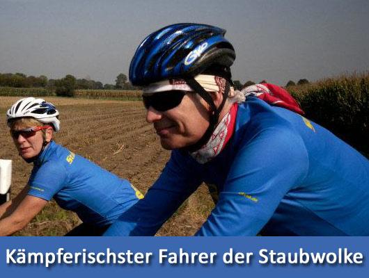 Kämpferischster Fahrer der Staubwolke-Krefeld