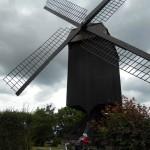 Mühlentour Staubwolke Krefeld