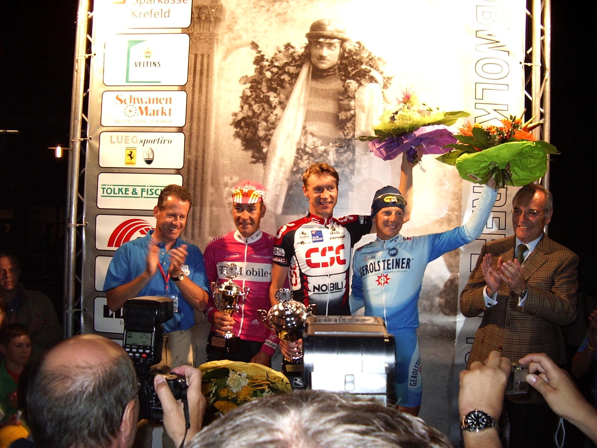 Herbert Hoenen war viele Jahre Hauptverantwortlicher für viele Radrennen