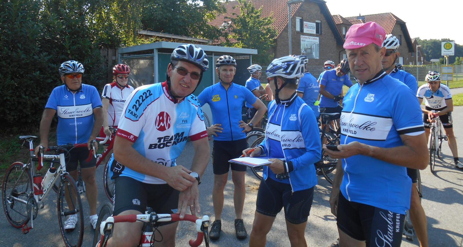 Herbert Hoenen, war nicht nur ein guter Radrennfahrer sondern auch ein excellenter Organisator.